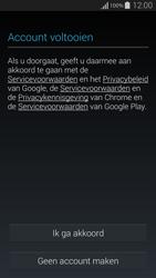 Samsung G850F Galaxy Alpha - Applicaties - Account instellen - Stap 14