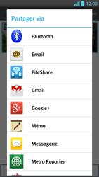 LG Optimus F5 - Photos, vidéos, musique - Envoyer une photo via Bluetooth - Étape 8