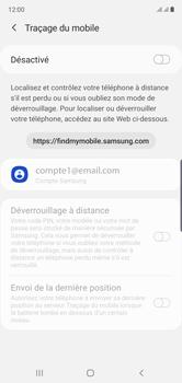 Samsung Galaxy Note10 - Appareil - Configurer Localiser mon appareil - Étape 6
