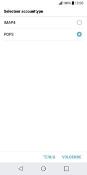 LG Q6 (M700) - E-mail - Account instellen (POP3 zonder SMTP-verificatie) - Stap 10