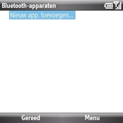 Samsung B7330 Omnia Pro - bluetooth - aanzetten - stap 9
