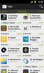 Samsung I9100 Galaxy S II - Applicaties - Downloaden - Stap 6