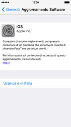 Apple iPhone 5c - Software - Installazione degli aggiornamenti software - Fase 7