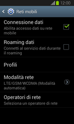 Samsung Galaxy Express - Internet e roaming dati - Disattivazione del roaming dati - Fase 7