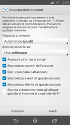 Sony Xperia Z3 Compact - E-mail - 032c. Email wizard - Outlook - Fase 8