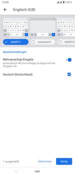 Sony Xperia 5 - Startanleitung - So fügen Sie eine Tastatursprache hinzu - Schritt 12