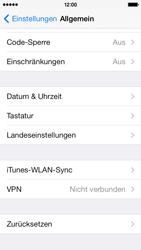 Apple iPhone 5c - Gerät - Zurücksetzen auf die Werkseinstellungen - Schritt 5