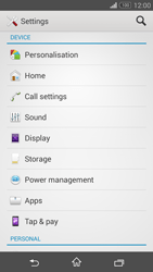 Sony Xperia Z3 Compact - Applications - How to uninstall an app - Step 4