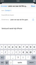 Apple iPhone 6s - e-mail - hoe te versturen - stap 7
