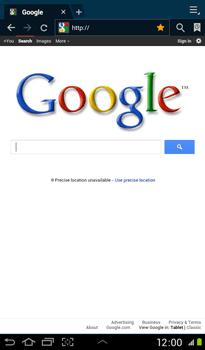 Samsung P3100 Galaxy Tab 2 7-0 - Internet - Internet browsing - Step 8