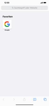 Apple iPhone XR - iOS 14 - Internet und Datenroaming - Verwenden des Internets - Schritt 13