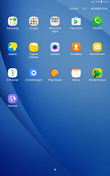Samsung Galaxy Tab A 10-1 - Anrufe - Rufumleitungen setzen und löschen - Schritt 3