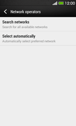 HTC Desire 500 - Network - Usage across the border - Step 6
