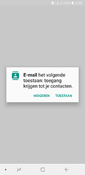 Samsung galaxy-a6-sm-a600fn-ds - E-mail - Account instellen (POP3 zonder SMTP-verificatie) - Stap 5