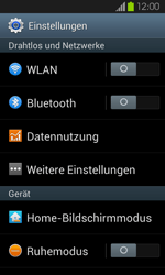 Samsung Galaxy S2 mit Android 4.1 - Internet - Manuelle Konfiguration - 0 / 0