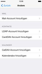 Apple iPhone 5 iOS 7 - E-Mail - Manuelle Konfiguration - Schritt 10