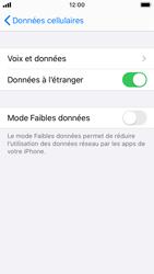 Apple iPhone SE - iOS 13 - Internet et roaming de données - Désactivation du roaming de données - Étape 5