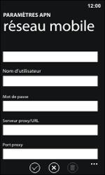 Nokia Lumia 800 / Lumia 900 - MMS - Configuration manuelle - Étape 11