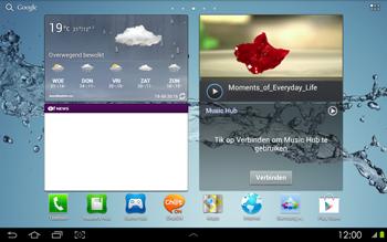 Samsung P5100 Galaxy Tab 2 10-1 - Bluetooth - headset, carkit verbinding - Stap 1