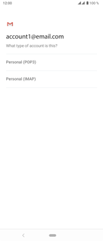 Sony Xperia 5 - E-mail - manual configuration - Step 11