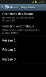 Samsung Galaxy Express - Réseau - Sélection manuelle du réseau - Étape 8