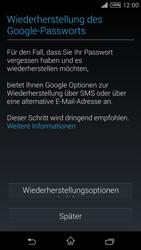 Sony Xperia T3 - Apps - Konto anlegen und einrichten - 12 / 22