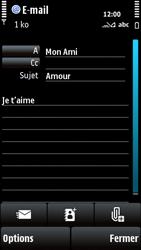 Nokia X6-00 - E-mail - envoyer un e-mail - Étape 9