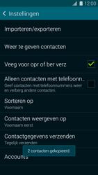 Samsung Galaxy S5 mini 4G (SM-G800F) - Contacten en data - Contacten kopiëren van toestel naar SIM - Stap 12