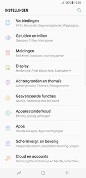 Samsung Galaxy S8 Plus (G955) - Internet - Handmatig instellen - Stap 4
