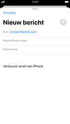Apple iPhone 7 - iOS 13 - E-mail - e-mail versturen - Stap 5