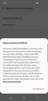 Samsung Galaxy S10 - E-Mail - Konto einrichten (outlook) - 13 / 16