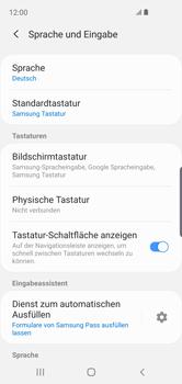 Samsung Galaxy S10e - Startanleitung - So fügen Sie eine Tastatursprache hinzu - Schritt 6