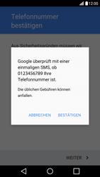 LG H850 G5 - Apps - Konto anlegen und einrichten - Schritt 8