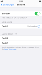 Apple iPhone 7 - iOS 13 - Bluetooth - Verbinden von Geräten - Schritt 8