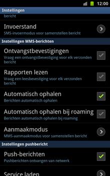 Samsung N7000 Galaxy Note - MMS - probleem met ontvangen - Stap 4