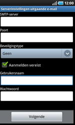 Samsung I9000 Galaxy S - e-mail - handmatig instellen - stap 9
