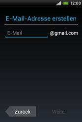 HTC A320e Desire C - Apps - Konto anlegen und einrichten - Schritt 6