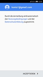 Huawei Honor 9 - E-Mail - Konto einrichten (gmail) - Schritt 12