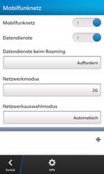 BlackBerry Z10 - Netzwerk - Netzwerkeinstellungen ändern - Schritt 8