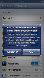 Apple iPhone 5 - Apps - Konfigurieren des Apple iCloud-Dienstes - Schritt 7