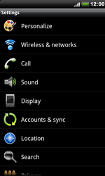 HTC S510e Desire S - MMS - Manual configuration - Step 4