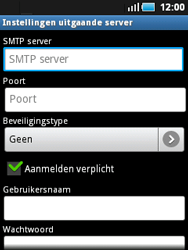 Samsung S5570 Galaxy Mini - e-mail - handmatig instellen - stap 10