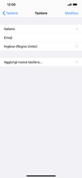 Apple iPhone 11 Pro Max - Operazioni iniziali - Come aggiungere una lingua alla tastiera - Fase 8