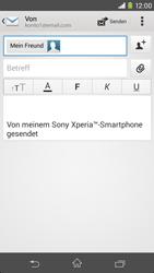 Sony Xperia M2 - E-Mail - E-Mail versenden - 8 / 16
