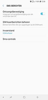 Samsung Galaxy A9 (2018) - sms - handmatig instellen - stap 8