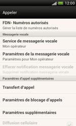 HTC T328e Desire X - Messagerie vocale - configuration manuelle - Étape 6