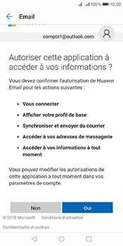 Huawei Y6 (2018) - E-mails - Ajouter ou modifier votre compte Outlook - Étape 9