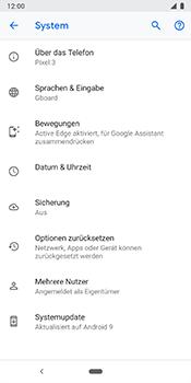 Google Pixel 3 - Fehlerbehebung - Handy zurücksetzen - Schritt 8
