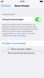 Apple iPhone 5s - iOS 12 - toestel resetten - back-up maken met jouw account - stap 15