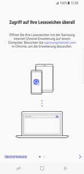 Samsung Galaxy S8 - Internet und Datenroaming - Verwenden des Internets - Schritt 5